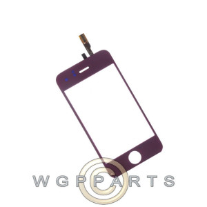 Digitizer for Apple iPhone 3GS Purple Front Glass Touch Screen Window Panel