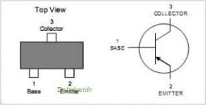 switching transistor MMBT3906 SMD pinout