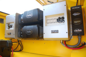 Solar Powered Generator main controll