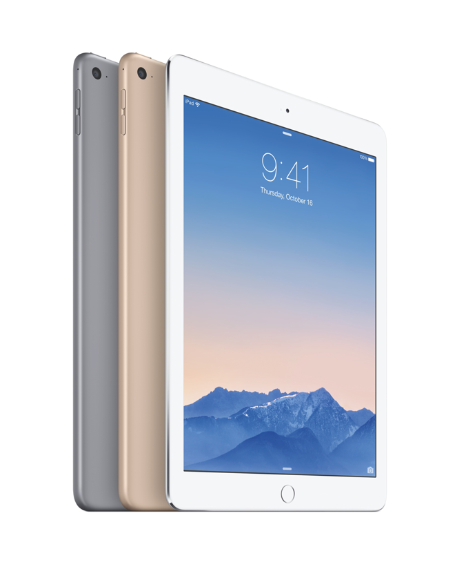 5 advanteges new apple ipad air 2 retina 16gb wifi w touch. Black Bedroom Furniture Sets. Home Design Ideas