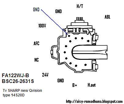 FA-122WJ-B bsc 26-263 sharp