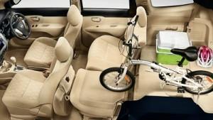 kabin nissan all new grand livina untuk membawa sepeda