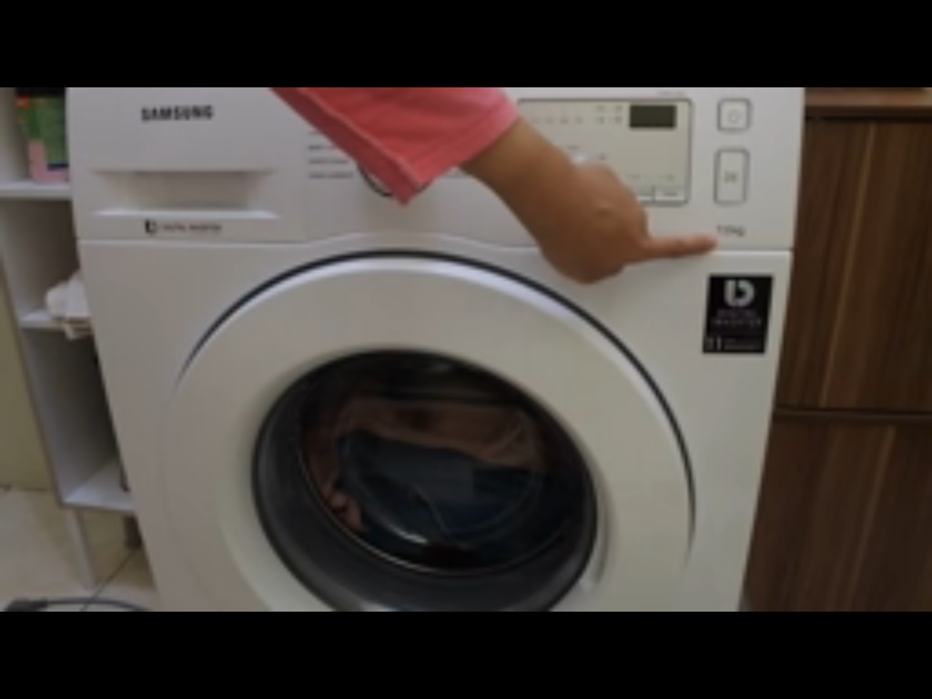cara menggunakan mesin cuci front loading samsung