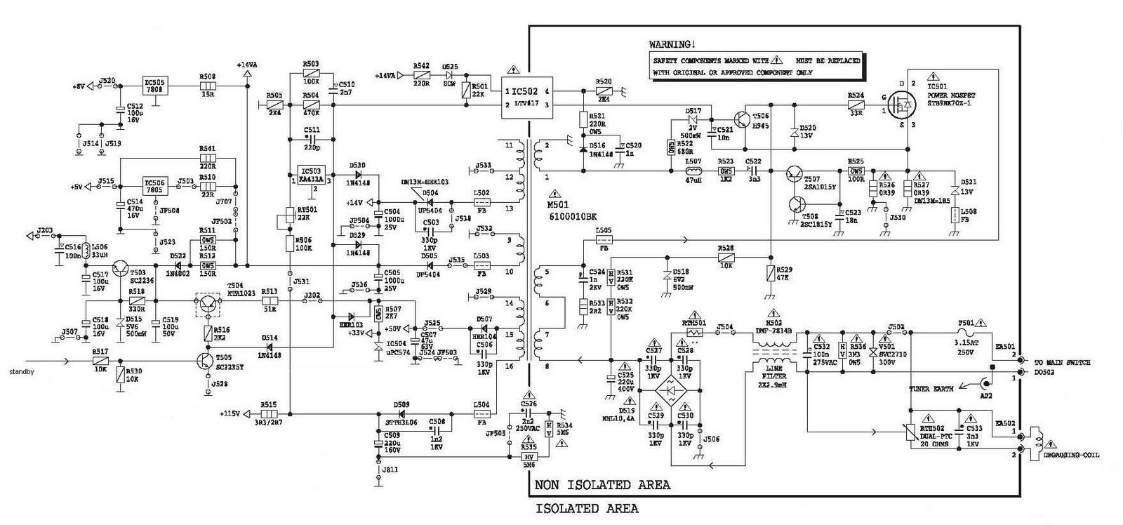 FS7UM power regulator supply poltron tabung