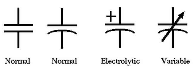 contoh simbol-kapasitor