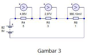 fungsi resistor pembagi tegangan listrik