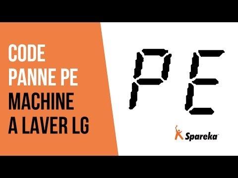 kode error DE mesin cuci LG 1 tabung