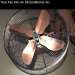 How To Turn Your Fan Into An Air Conditioner quick and easy