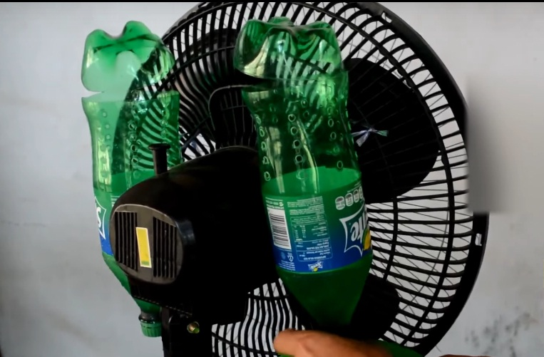 cara membuat kipas angin menjadi ac