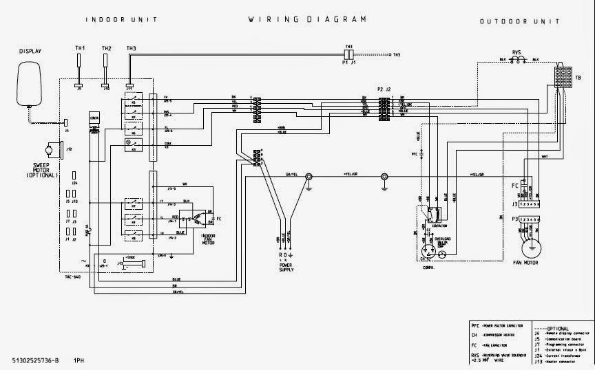 Ac Split Unit Wiring Diagram Wiring Diagram Advance
